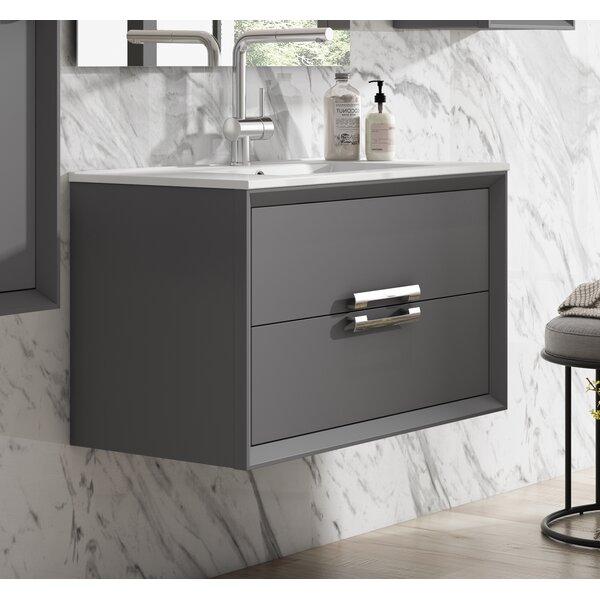 Zak 40 Wall-Mounted Single Bathroom Vanity Set