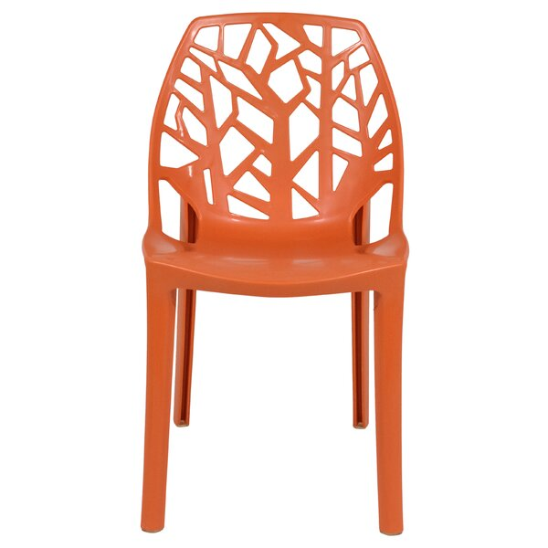 Kimonte Stacking Plastic Side Chair (Set Of 4) By Ivy Bronx