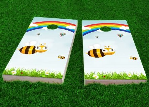 Kids Theme Cornhole Game (Set of 2) by Custom Cornhole Boards