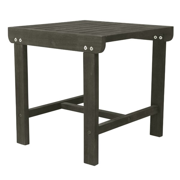 Amabel Solid Wood Side Table By Beachcrest Home