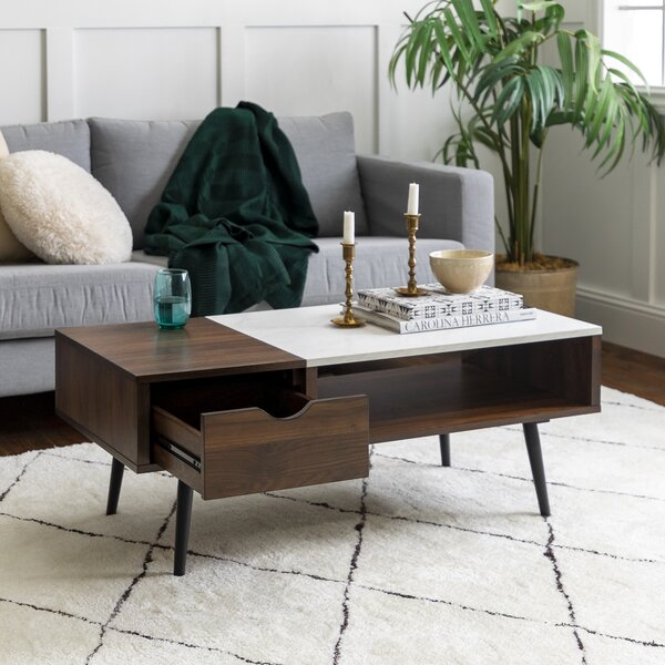 Dorothea Coffee Table with Storage by Modern Rustic Interiors