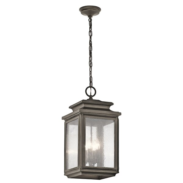 Wiscombe Park 4-Light Outdoor Hanging Lantern by Kichler