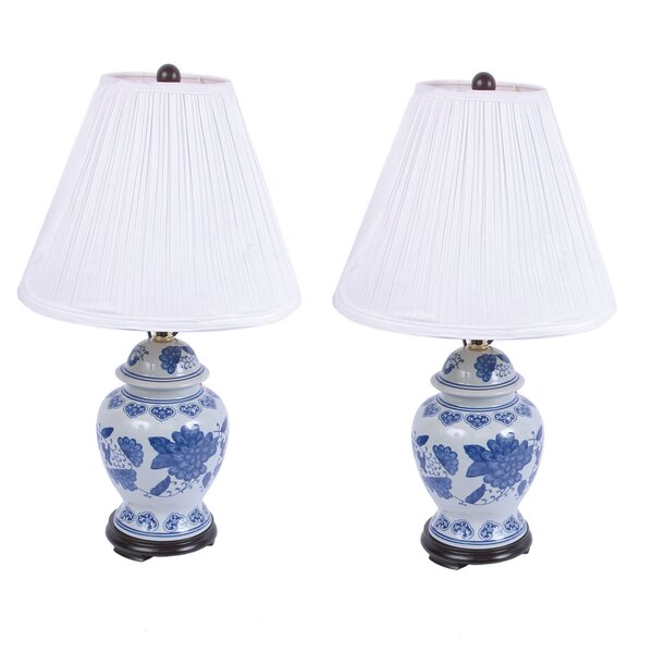 Ceramic Ginger 24.5 Table Lamp (Set of 2) by DEI