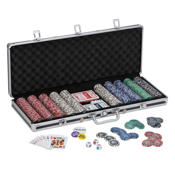 Fat Cat 500 Piece Club Poker Chip by GLD Products