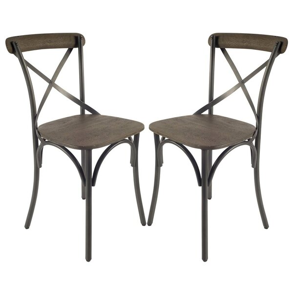 Lumberton Solid Wood Dining Chair (Set of 2) by Gracie Oaks