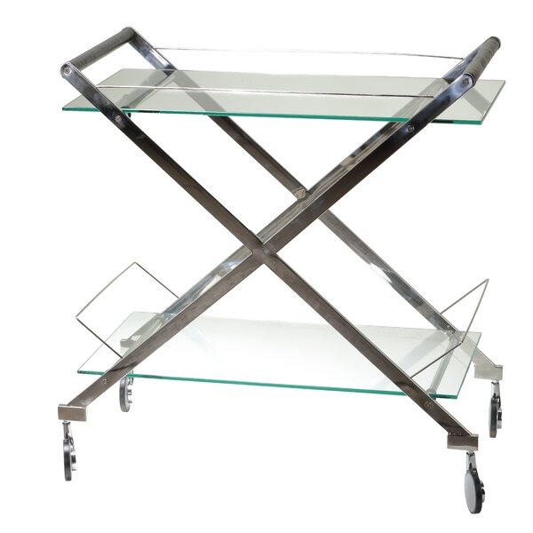 Hardoby Bar Cart by Orren Ellis