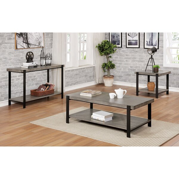 Mccredmond 3 Piece Coffee Table Set by 17 Stories