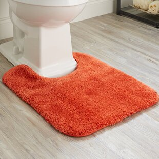 Orange Bath Rugs Amp Mats You Ll Love Wayfair