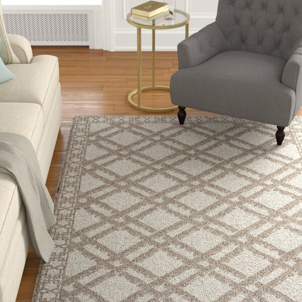 Kohut Beige Area Rug by Alcott Hill