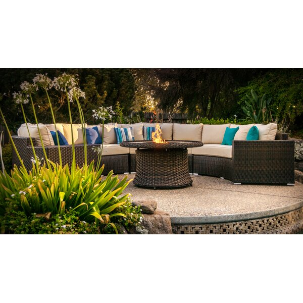 Wachapreague 5 Piece Sectional Seating Group with Cushions by Brayden Studio