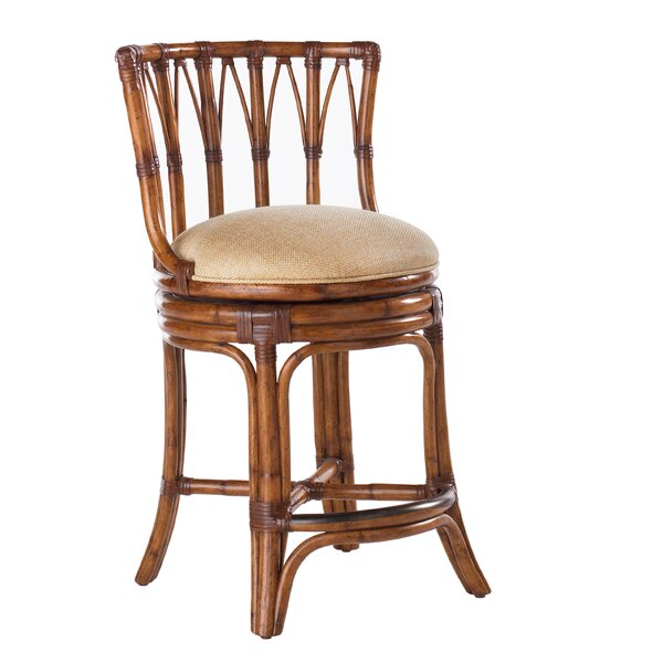 Island Estate 30 Patio Bar Stool with Cushion by Tommy Bahama Home