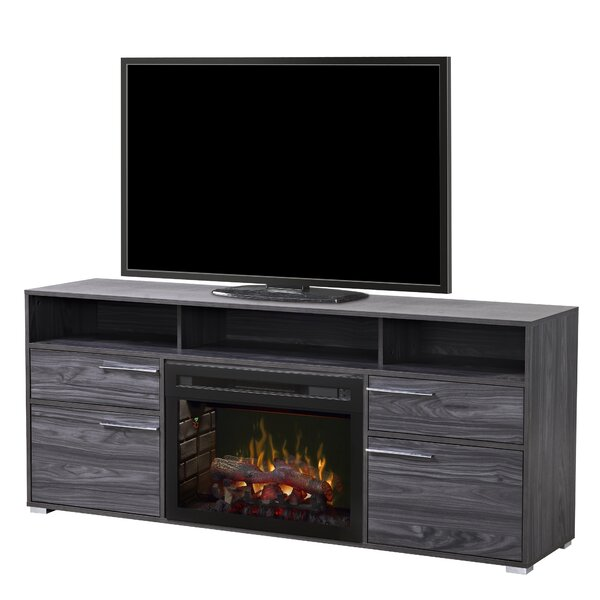 Sander 66 TV Stand with Fireplace by Dimplex