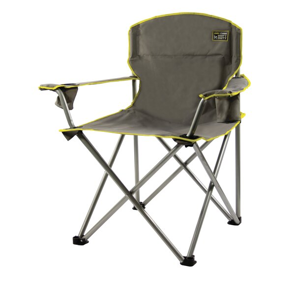 Heavy Duty Gray Folding Chair by Freeport Park Freeport Park