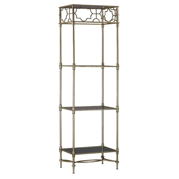 Mara Three Shelf Etagere Bookcase by Mercer41