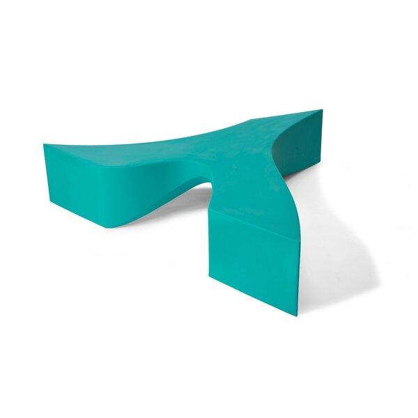 Riptide Wishbone Plastic Bench by TONIK TONIK