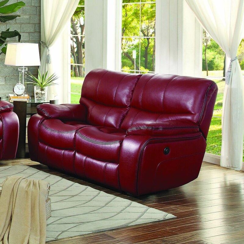 beck reclining loveseat by red barrel studio best