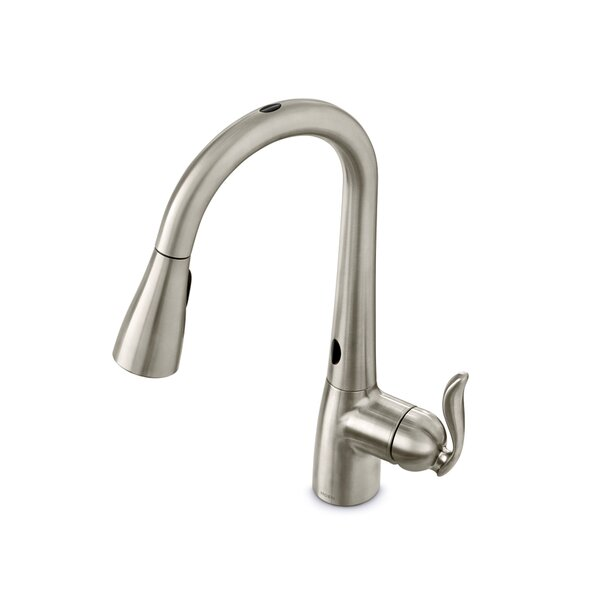 Arbor Touchless Single Handle Kitchen Faucet by Moen