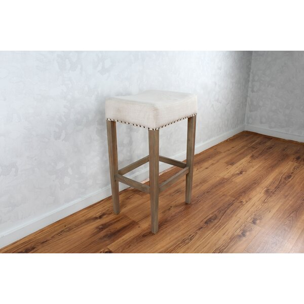 Bertina Fabric 30 Bar Stool by Gracie Oaks