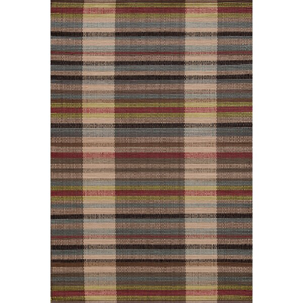 Swedish Rag Handwoven Cherry Brown Indoor/Outdoor Area Rug by Dash and Albert Rugs