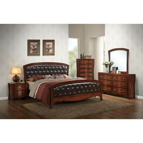 Ferris Queen Sleigh 5 Piece Bedroom Set by Bloomsbury Market