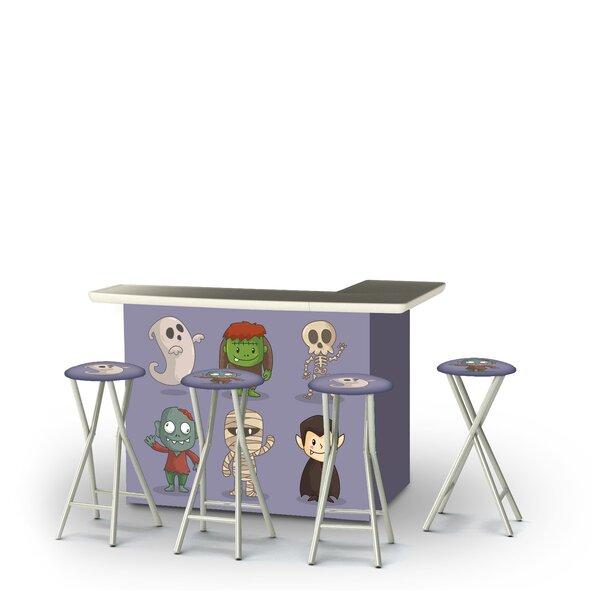 Zambom Halloween Friends 5-Piece Bar Set by East Urban Home