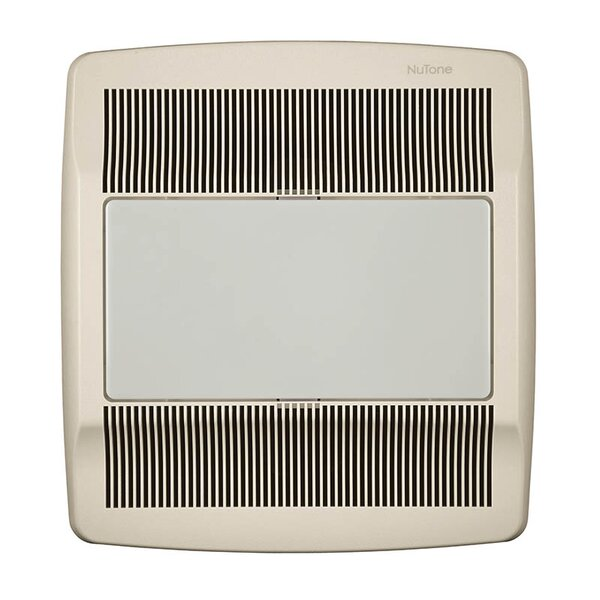 Ultra Silent 110 CFM Energy Star Bathroom Fan with Fluorescent Light by Broan