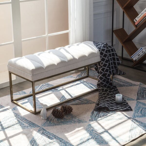 Jaden Upholstered Bench by Modern Rustic Interiors