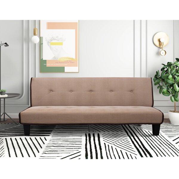 Oksen Queen Biscuit Back Convertible Sofa By Ebern Designs