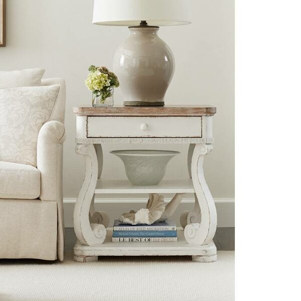 Juniper Dell End Table with Storage by Stanley Furniture