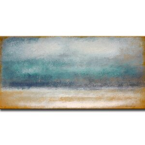 Tempest Painting Print on Wrapped Canvas by Mercury Row