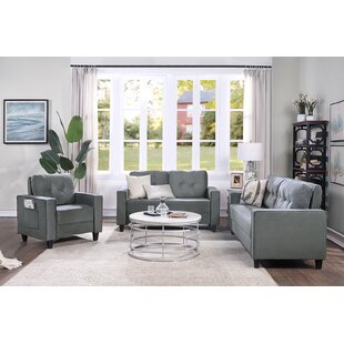 Modern Style  Upholstered Armchair, Loveseat And Three Seat For Home Or Office by Latitude Run®