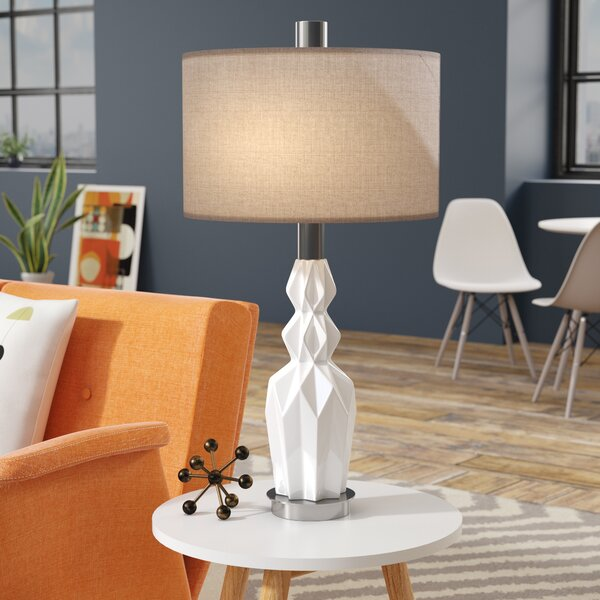 Josue Ceramic 31 Table Lamp by Corrigan Studio