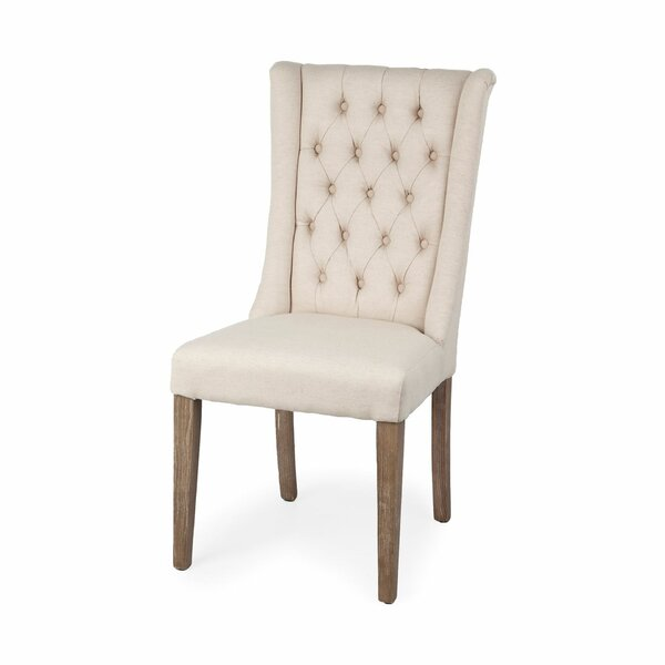 Hallsville Upholstered Dining Chair by Ophelia & Co.