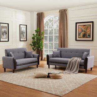 Dima 2 Piece Living Room Set by Corrigan Studio®
