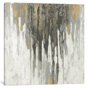 'Neutral Space III' Painting Print on Wrapped Canvas by Mercury Row