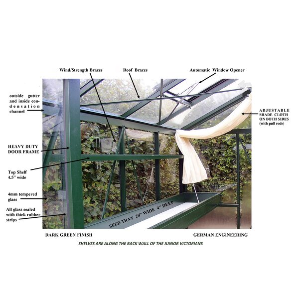 Junior Victorian Greenhouse Accessories Kit by Janssens of Belgium
