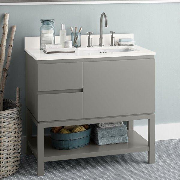 Chloe 37 Single Bathroom Vanity Set by Ronbow