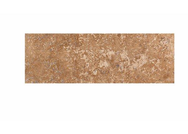 6 x 18 Travertine Field Tile in Walnut Honed by Parvatile