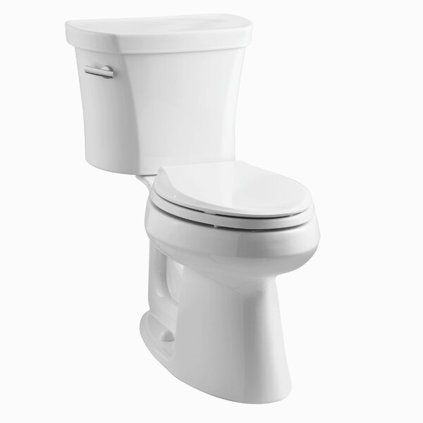 Highline Comfort Height 1.28 GPF Elongated Two-Piece Toilet by Kohler