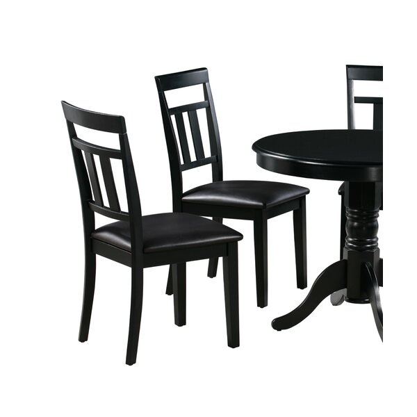 Aguiar Solid Wood Dining Chair (Set of 2) by August Grove