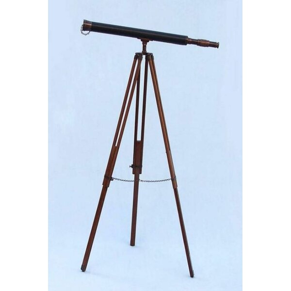 Harbor Master Refractor Telescope by Handcrafted Nautical Decor