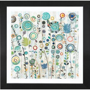 'Ocean Garden I Square' Print by East Urban Home