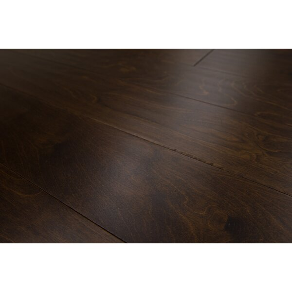 Bern 5 Engineered Birch Hardwood Flooring in Dark Chocolate by Branton Flooring Collection