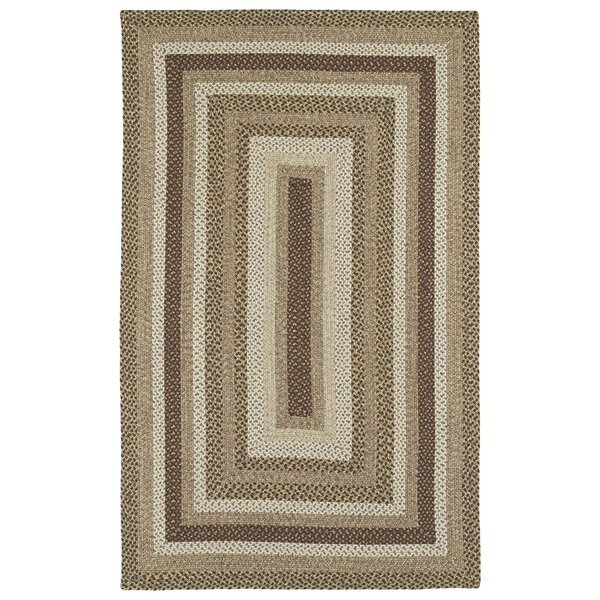 Partridge Mocha Indoor/Outdoor Area Rug by Beachcrest Home