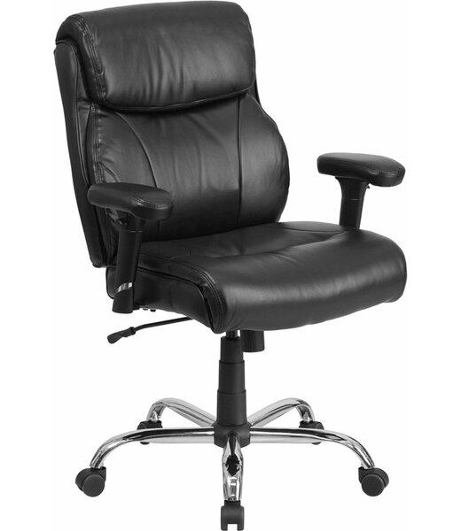 Kropp Ergonomic Swivel Executive Chair by Symple Stuff
