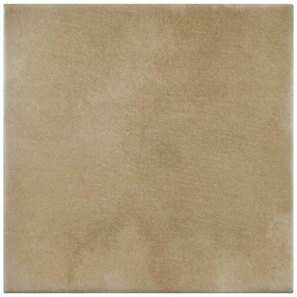 Haute 5.88 x 5.88 Ceramic Field Tile in Sandy Beige by EliteTile