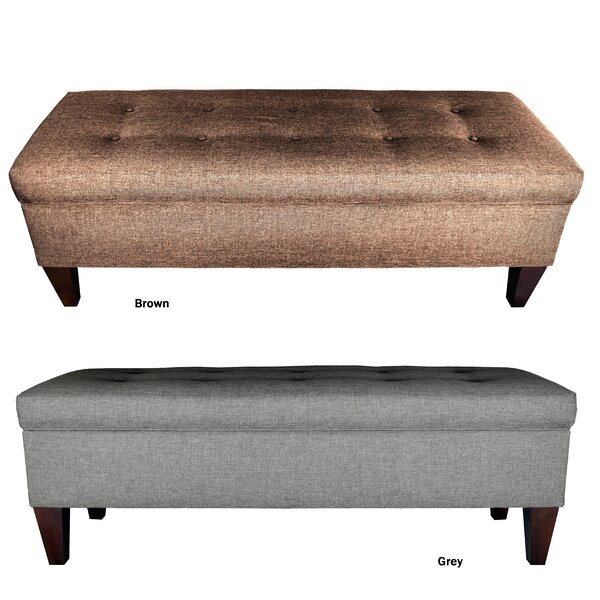 Juliana Upholstered Storage Bench by Alcott Hill