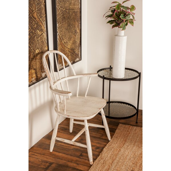 Osterley Distressed Solid Wood Dining Chair by Gracie Oaks Gracie Oaks