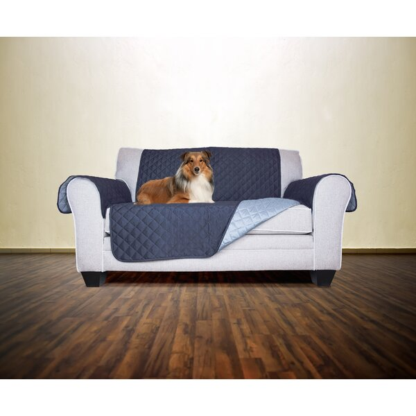 Reversible Protector Box Cushion Loveseat By Winston Porter