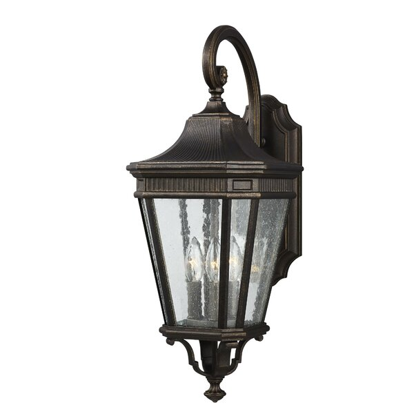 Chilhowee 3-Light Outdoor Wall Lantern by Darby Home Co